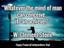 A Financial Independence Day Greeting – Declare Your Financial Freedom!