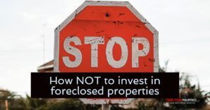 How NOT To Invest In Foreclosures
