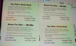 How To Turn Listings Of Foreclosed Properties Into Opportunities Just Like In Cashflow 101