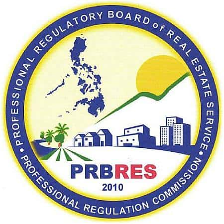 OFFICIAL SEAL OF THE PROFESSIONAL REGULATORY BOARD OF THE REAL ESTATE SERVICES (PRBRES)