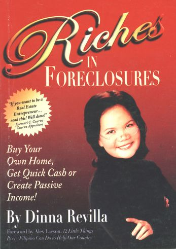 """Fallen"" real estate guru Dinna Revilla's book Riches in Foreclosures"