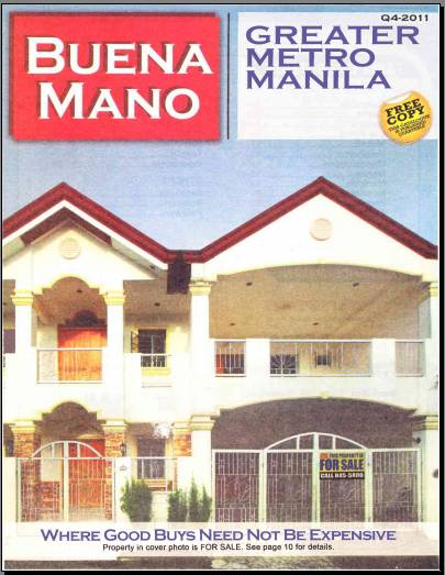Buena Mano Q4-2011 Greater Metro Manila Area Catalog