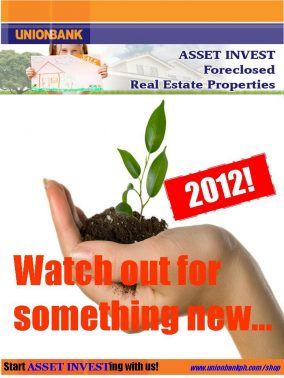 """Unionbank's """"Watch out for something new in 2012"""" teaser"""