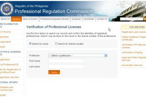 How to check the validity of a Real Estate Broker's License