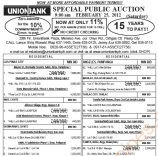 181st auction of UnionBank foreclosed properties slated on February 25, 2012