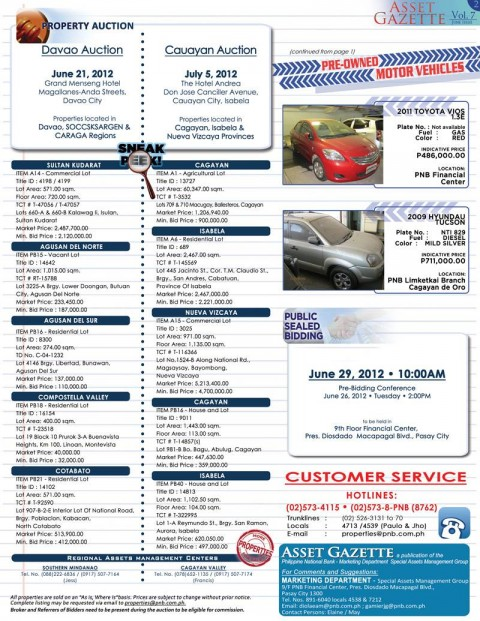 PNB SAMS Asste Gazette for June 2012 (page 2)