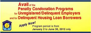 Last chance to stop foreclosure: Pag-IBIG Housing Loan condonation program extended