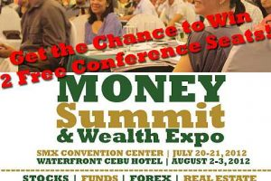 Giveaway: Conference tickets for the Money Summit and Wealth Expo 2012 Manila