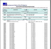 DBP foreclosed properties for sale as of October 30, 2012