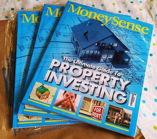 3 copies of ultimate guide to property investing from Alabang Town Center National Book Store and Powerbooks