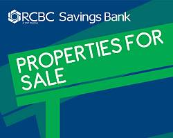 RCBC Savings Bank foreclosed properties for sale