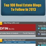 Top 100 Real Estate Blogs To Follow In 2013 (Infographic)