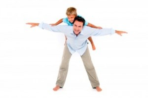 Father With Son on Back by Ambro from freedigitalphotos