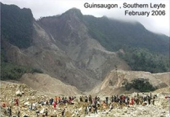 Landslide in Guinsaugon, Southern Leyte - February 2006