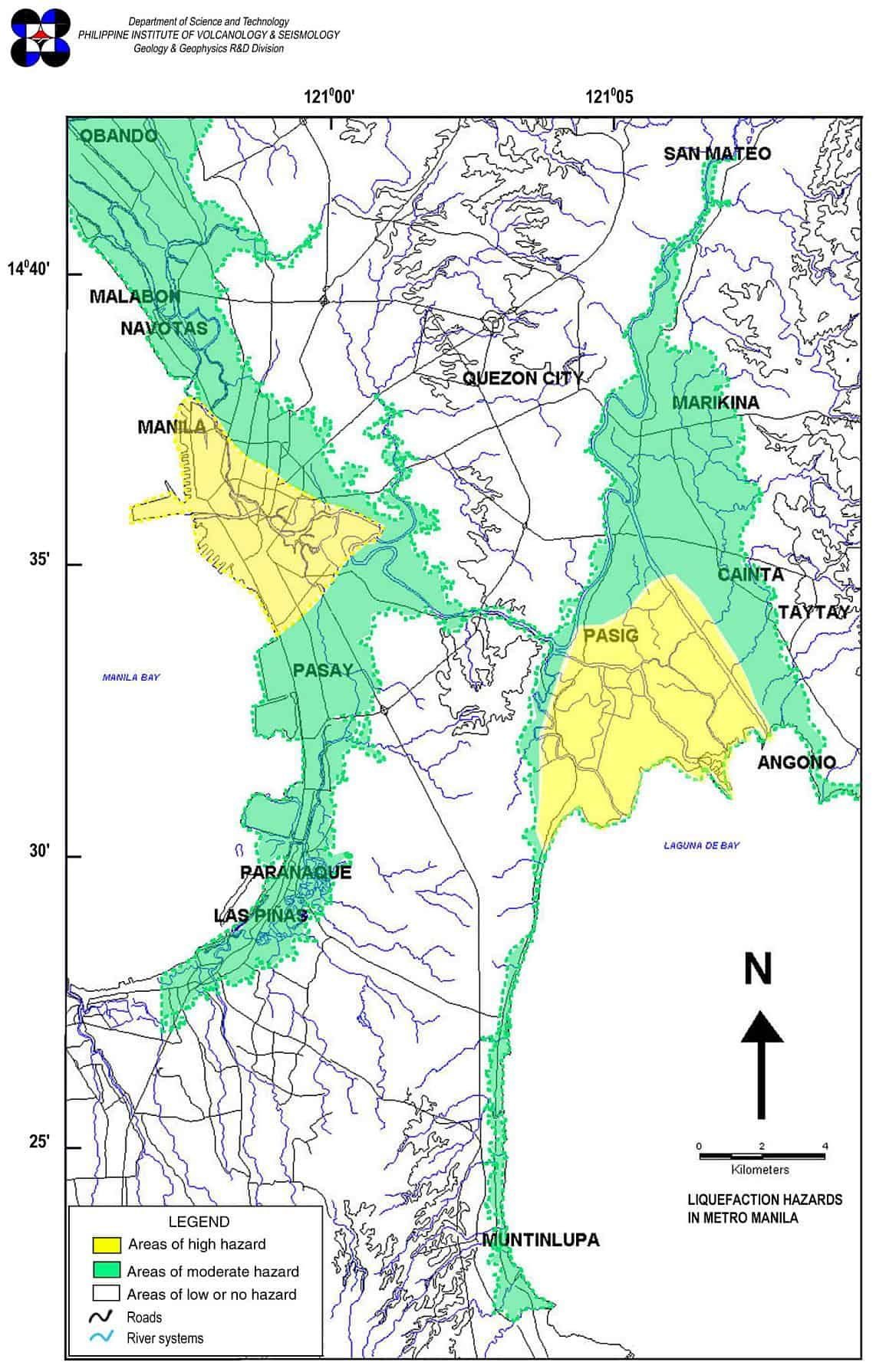 Liquefaction-Hazard-Map-of-Metro-Manila-2001