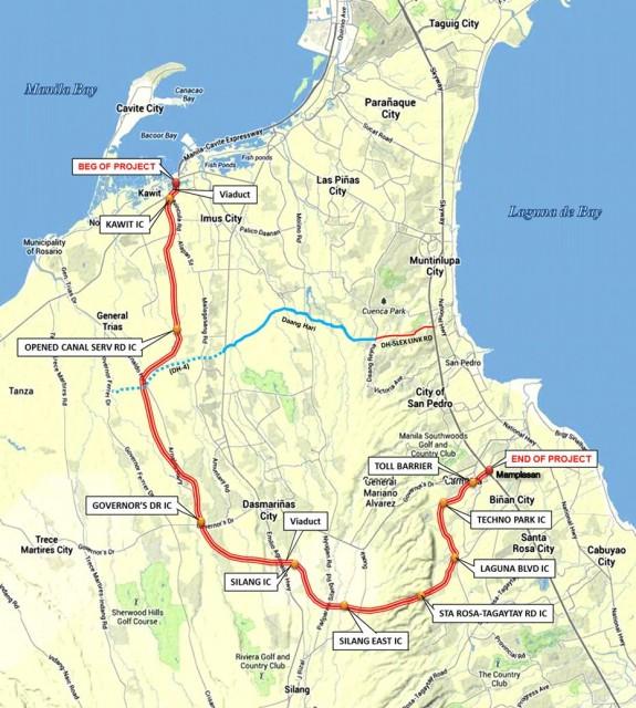 CALAx Map