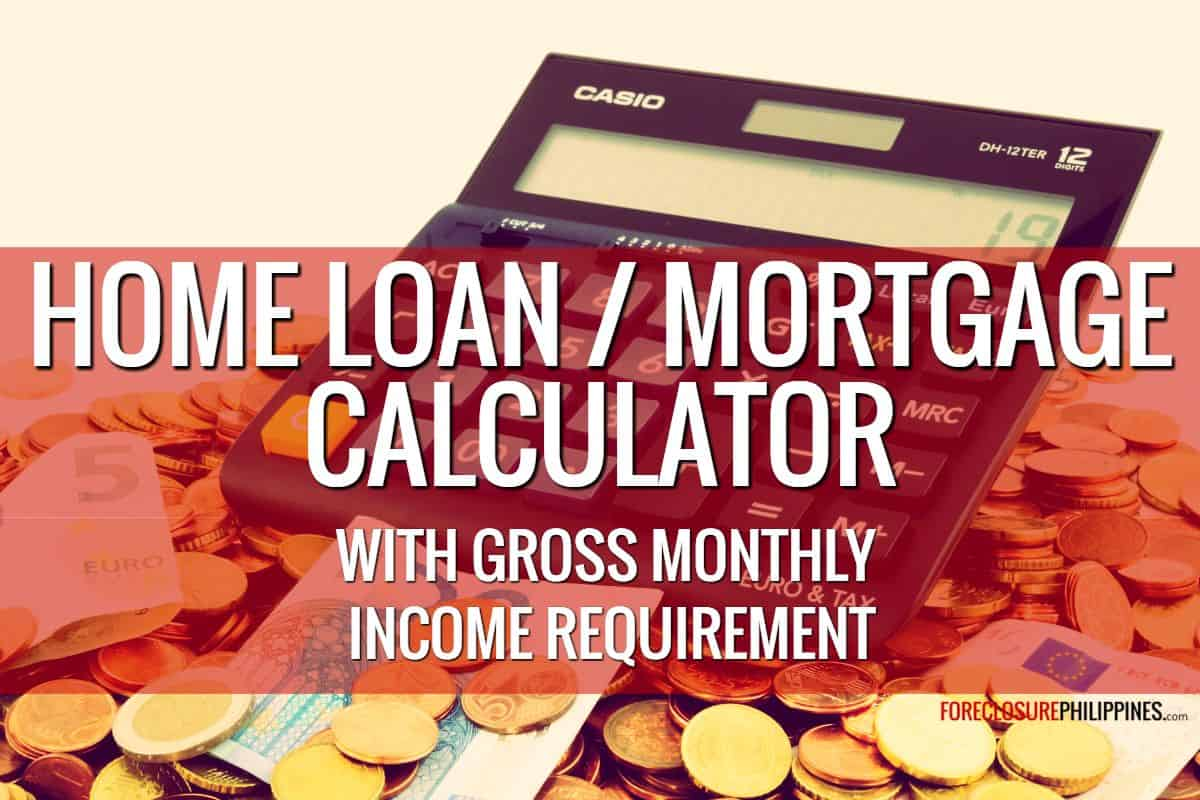 Home Loan and Mortgage Calculator