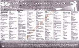 July 3, 2010 auction of repossessed properties slated by Star Properties