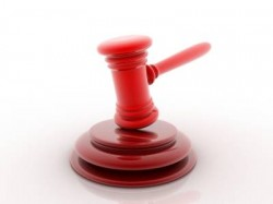 A gavel which is often used during tax foreclosure auctions