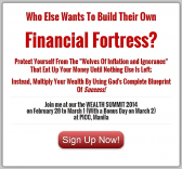 Join Me At The Wealth Summit 2014 On February 28 - March 2 (Plus How To Get 10% Discount)