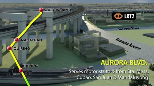 Skyway Stage 3 Aurora Blvd Access Point