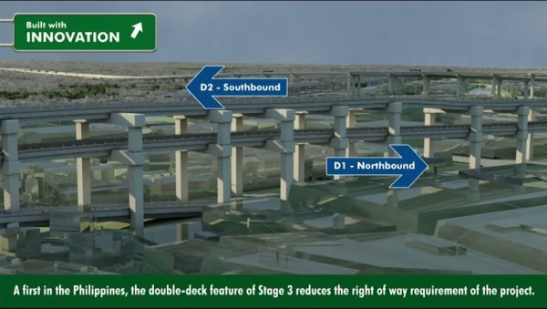 Skyway Stage 3 Double deck feature