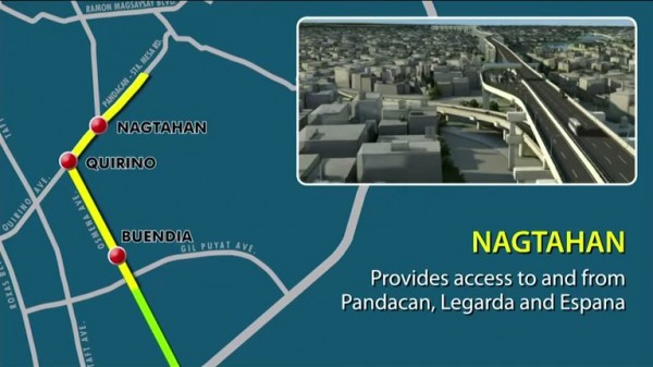 Skyway Stage 3 Nagtahan Access Point