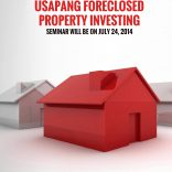 (Registration Closed!) New Venue: Usapang Foreclosed Property Investing Seminar On July 26, 2014