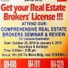 REBAP LMP COMPREHENSIVE REAL ESTATE SEMINAR TRAINING - OCTOBER 25 2014 to JANUARY 4 2015