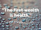 Health Is Wealth – 9 Things I Did That Helped Me Prevent Diabetes (Updated)