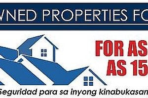 Nationwide List of BFS Foreclosed Properties for sale as of January 2015 now available!
