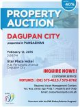 Auction Of PNB Foreclosed Properties In Pangasinan Slated On February 12, 2015 (Up to 40% Discount!)