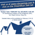 RCBC Savings Bank February 28 2015 auction