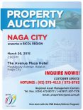 Public Auction Of PNB Foreclosed Properties In Bicol Slated On March 26, 2015