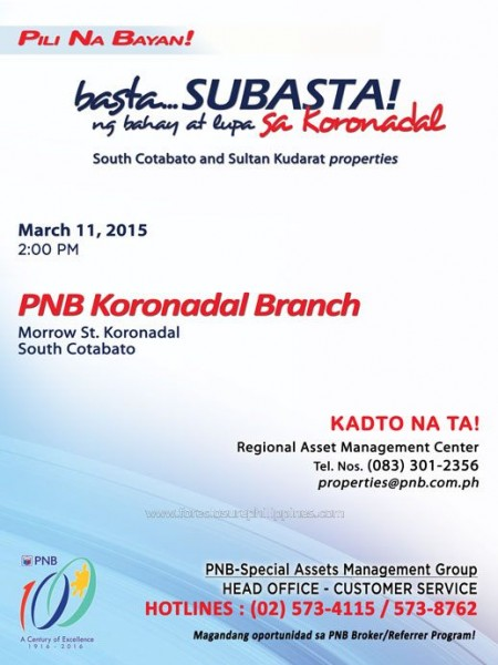 pnb-foreclosed-properties-koronadal-auction-on-march-11-2015