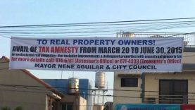 Real Property Tax Amnesty For Las Pinas City Ends On June 30, 2015
