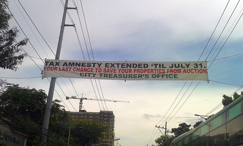 Las Pinas City Real Property Tax Amnesty Extended Until July 31, 2015
