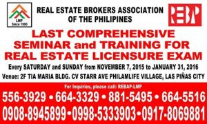 Where to Review for the Very Last Real Estate Brokers' Exam