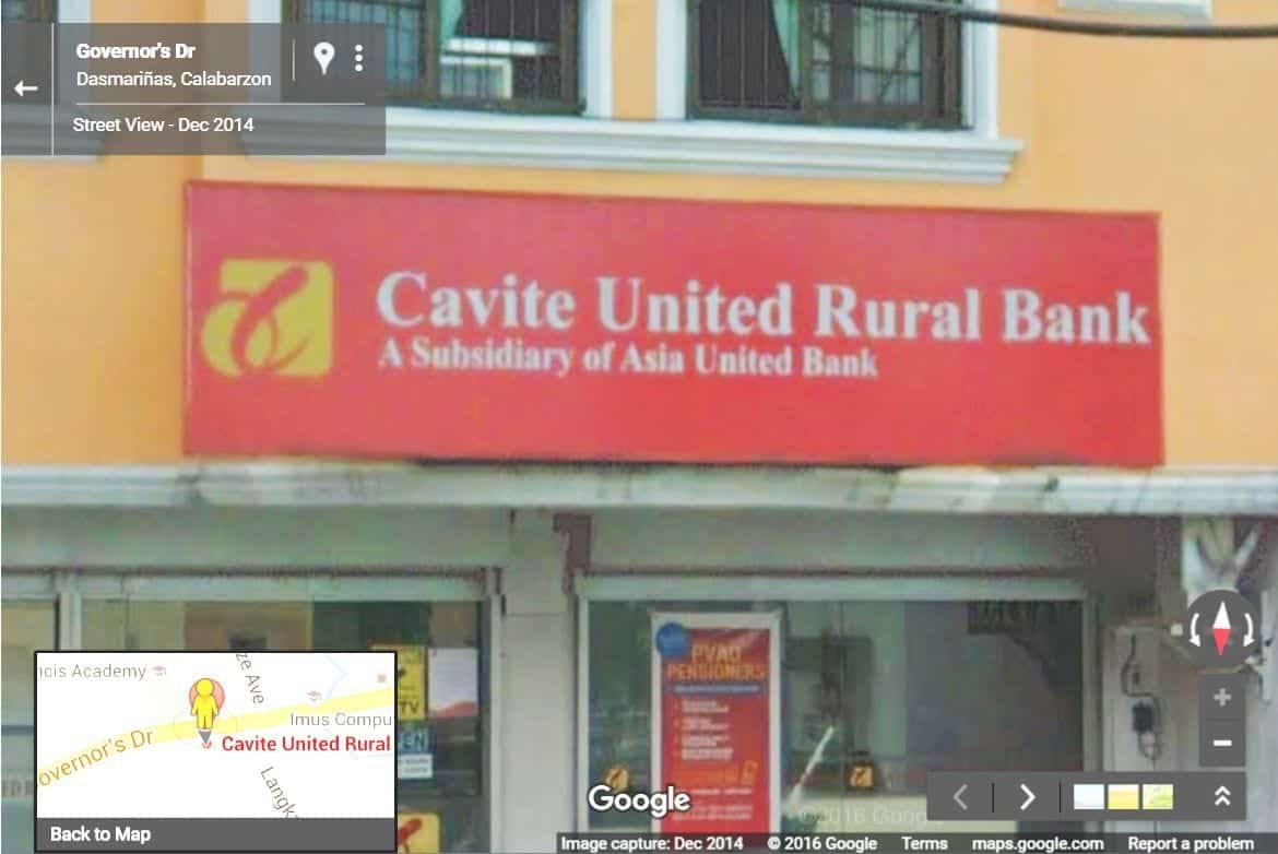 Download this list of Cavite United Rural Bank Foreclosed Properties for sale as of June 2016