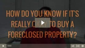 How to do due diligence before buying foreclosed properties
