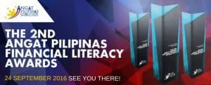 "See You At The ""2nd Angat Pilipinas Financial Literacy Awards Night"" On September 24, 2016"