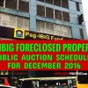 Auction of 605 Pag-IBIG foreclosed properties slated in December 2016