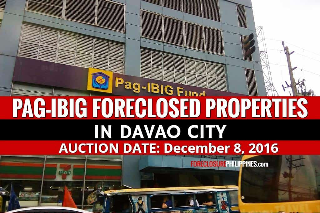 Foreclosed Housing In Davao City