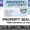 202 PNB Foreclosed Properties slated for public auction on April 2017