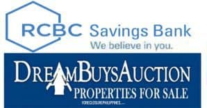 RCBC Savings Bank Foreclosed Properties for sale for April 2018 (NCR and Provincial areas)