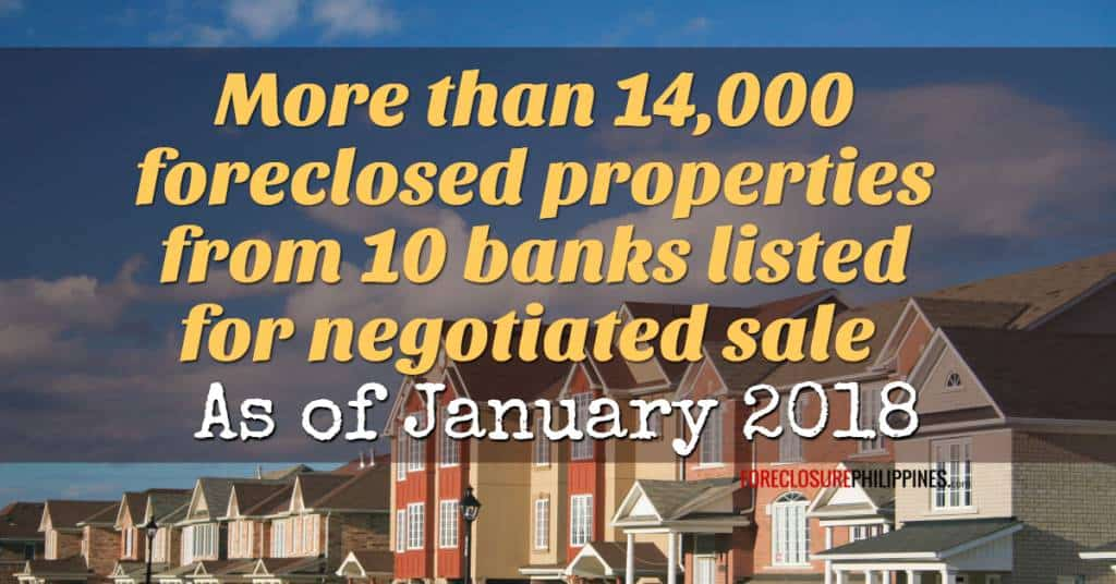 More Than 14 000 Foreclosed Properties From 10 Banks