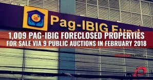 1,023 Pag-IBIG Foreclosed Properties for auction in February 2018