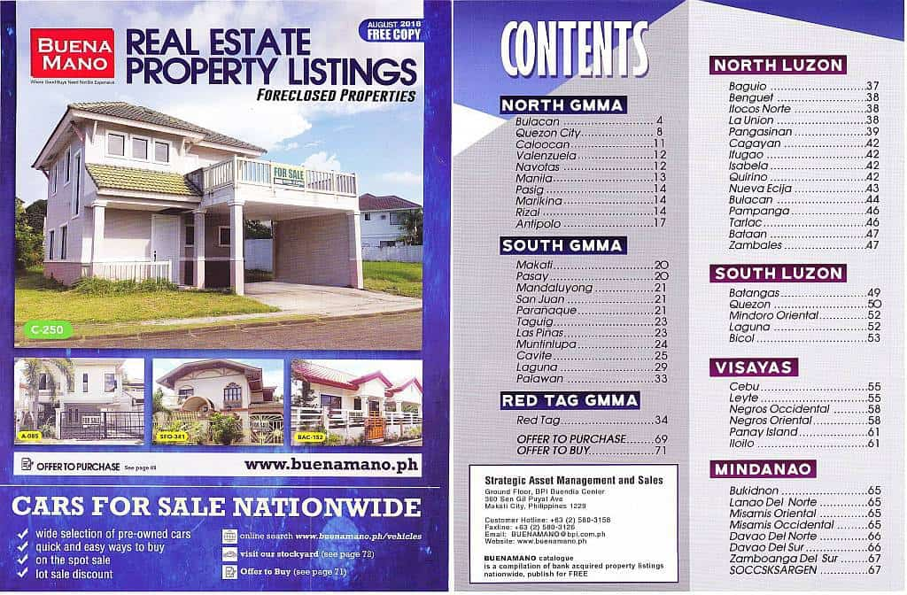 Download BPI foreclosed properties for sale catalog (August