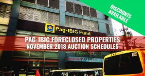 Pag-IBIG to auction 1,000 foreclosed properties in November 2018
