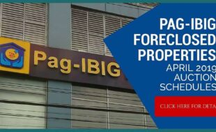 (2nd update) 810 Pag-IBIG foreclosed properties included in April 2019 auction schedules